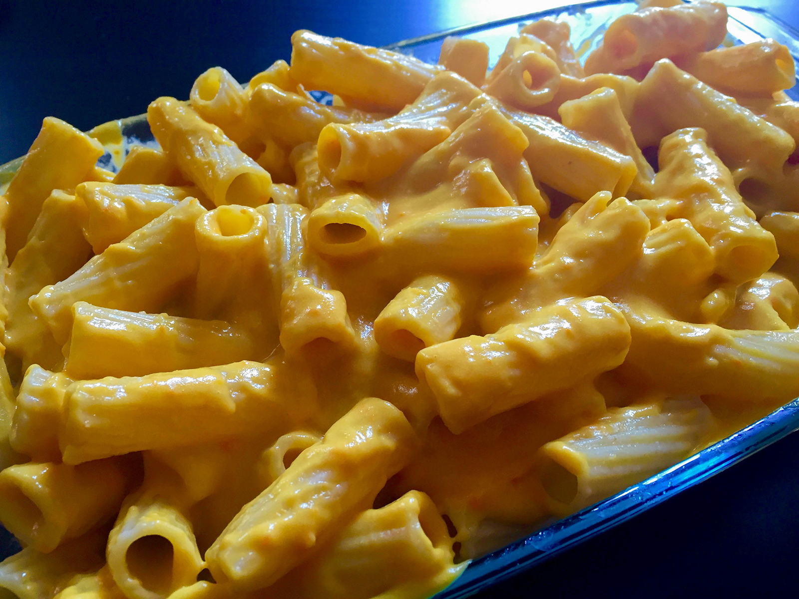 macarrones con queso veganos