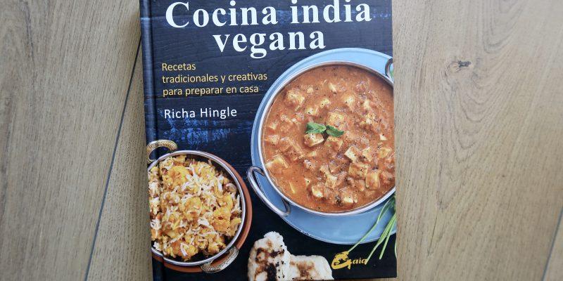 Cocina india vegana, de Richa Hingle